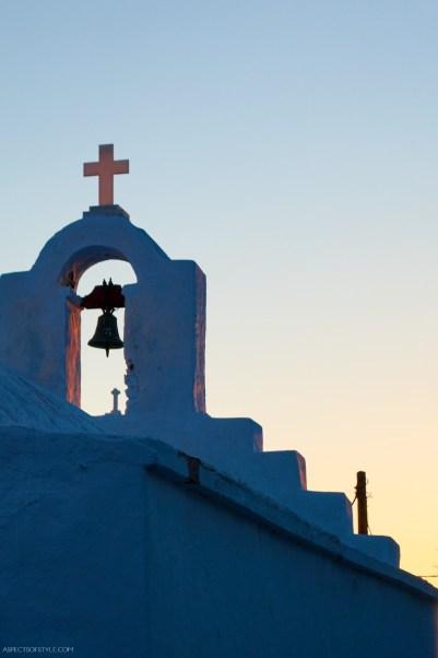 Church in Chora Amorgos, Greece