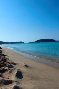 Simos beach Elafonisos, Greece