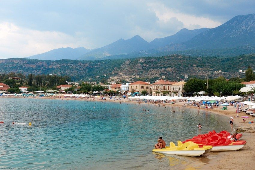 Stoupa, Mani, Peloponnese, Greece