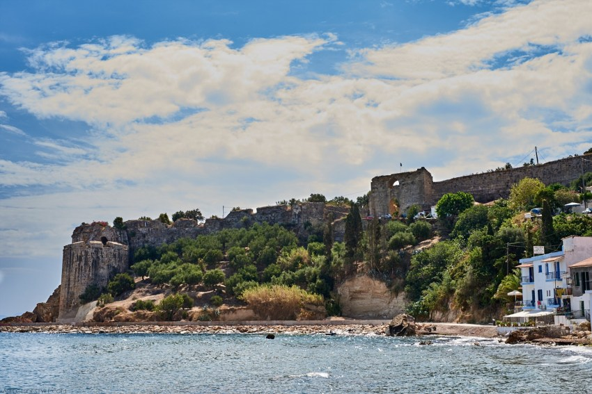 Koroni's Castle Peloponnese, Greece