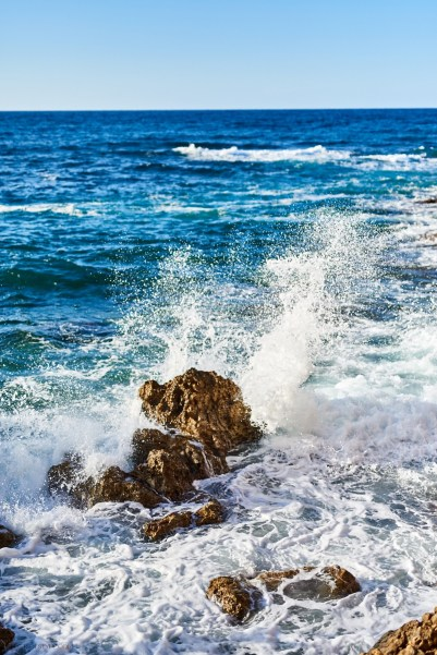 sea in Chania