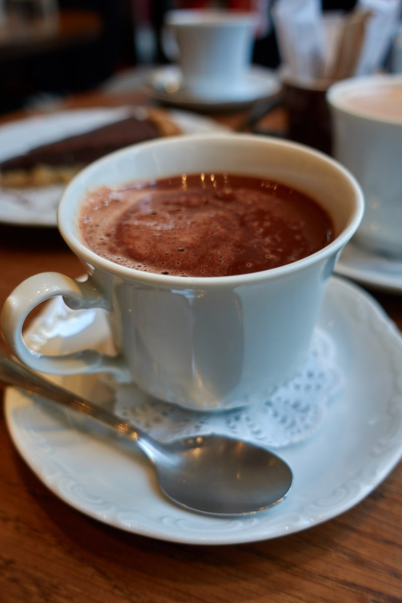 hot chocolate at Σοκολάτα Athens