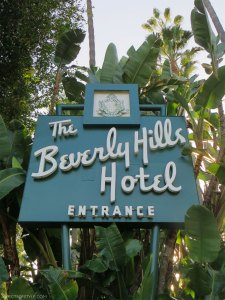 the Beverly Hills Hotel, California