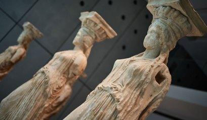 Caryatids Acropolis Museum Athens