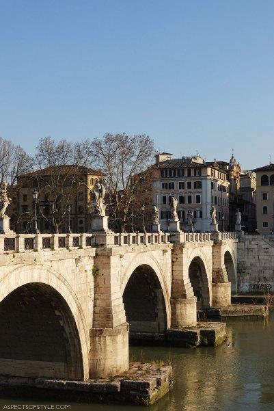 Ponte Sant Angelo, Rome, Italy