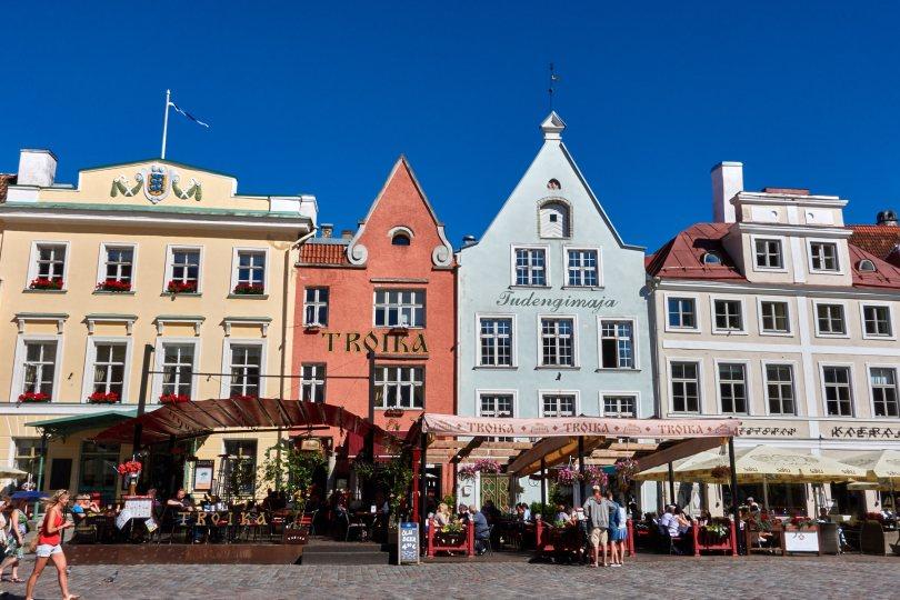 Tallinn City Hall square, Estonia