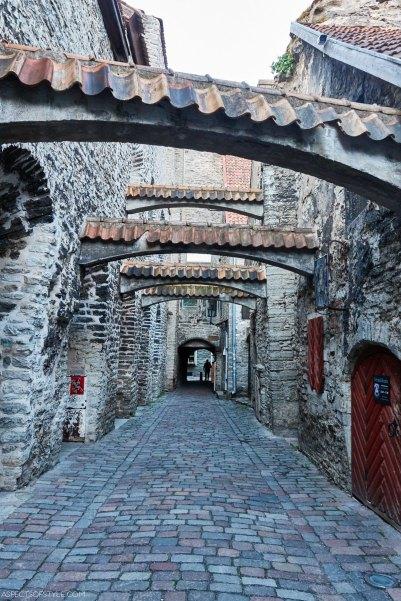 St Catherine's Passage (Katariina Kaik), Tallinn, Estonia