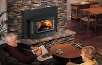 Wood Fireplace Insert   Aspen Green Gas Works