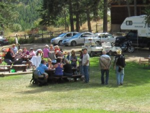 Group rentals for family reunions and weddings at Aspengrove Country Resort