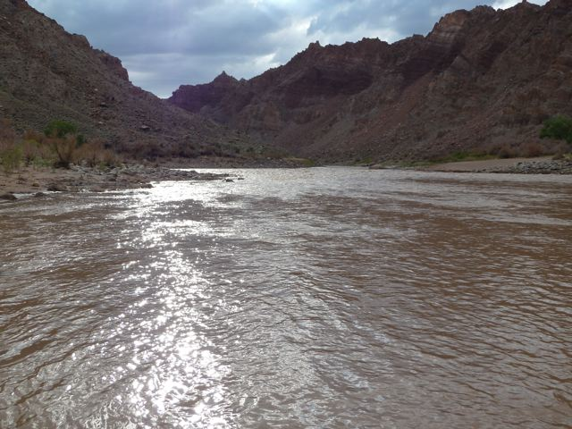 Is there a chance that fracking fluid could end up in the Colorado River?