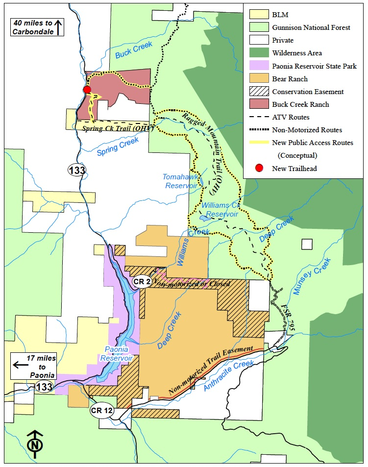 Bear Ranch 2 travel map