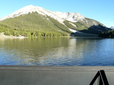 A full Grizzly Reservoir on June 25, 2011.