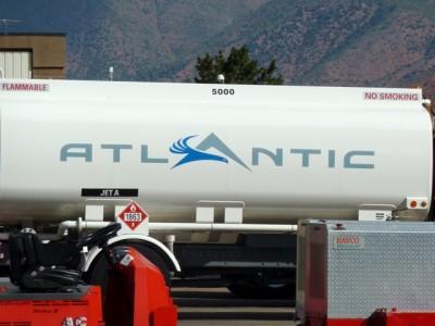 Fuel facilities at Atlantic Aviation in Aspen.
