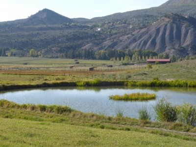 Equestrian facilities at the Lazy-O Ranch border Windstar on the Capitol Creek side of the property, while the High Mesa Ranch is now on the Snowmass Creek side.
