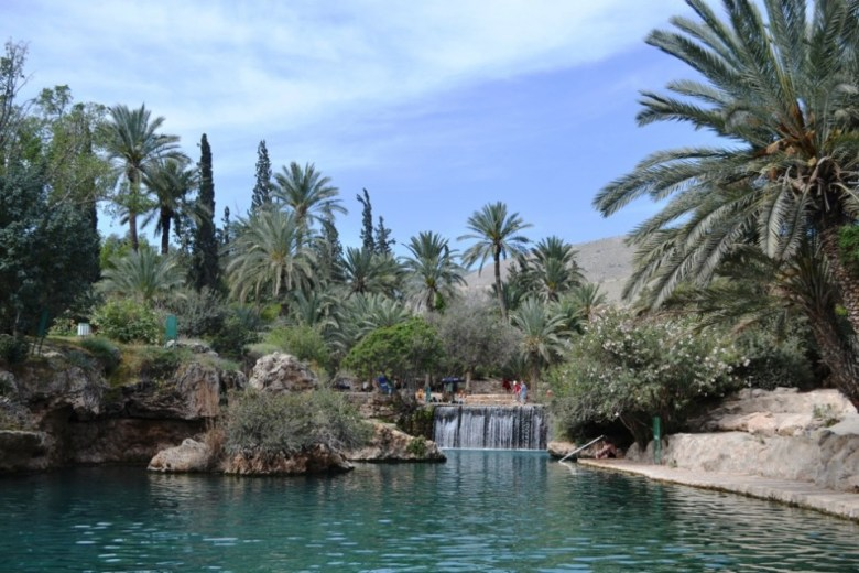 Water and greenery are celebrated in this Israeli national park near Bet She-an in the Harod Valley.