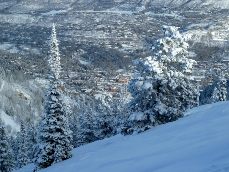 On any given winter morning Aspen is still a highly attractive ski town, for both busboys and billionaires.