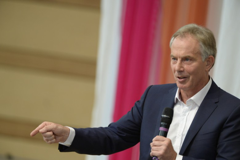 Tony Blair, the former prime minister of Great Britain, speaking at the Aspen Ideas Festival on June 30, 2014.