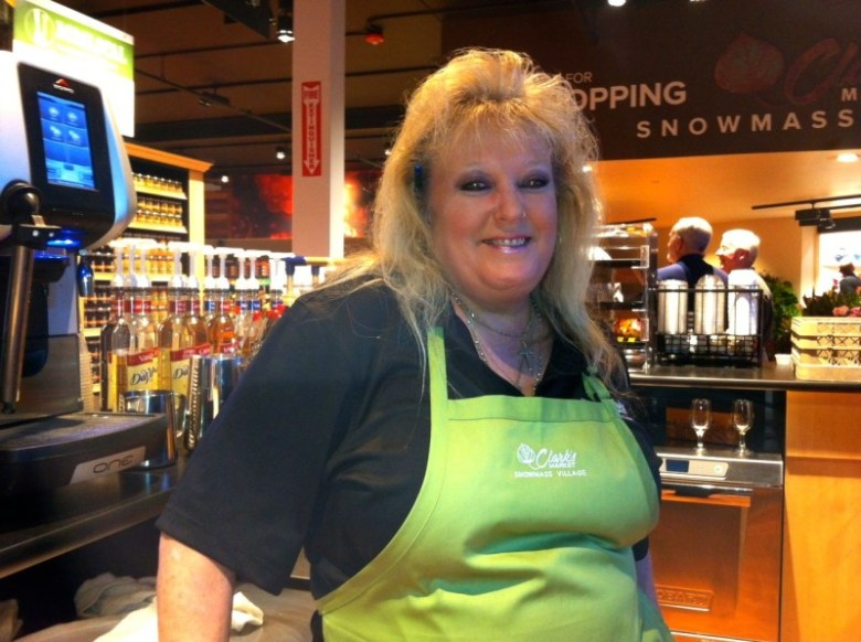 Teresa Kelly is one of the familiar faces that customers will see at the Clark's store in Snowmass Village. The daughter of a longtime Village Market employee, Kelly said locals seem happy to have a piece of their village back.