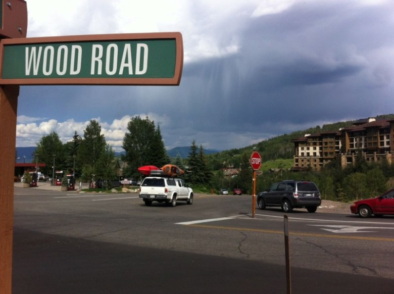 During busy times, the Brush Creek Road/Wood Road intersection routinely receives a failing grade.