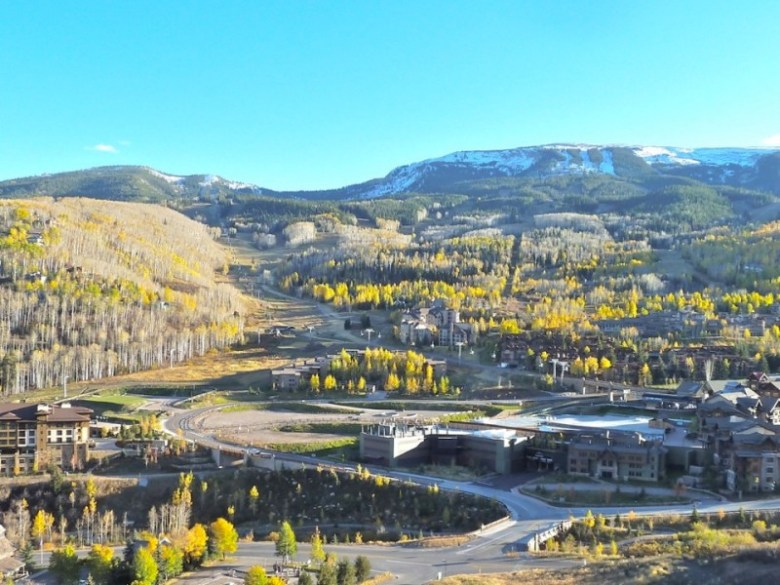 Base Village in the fall of 2013. Little has changed since then on the property.