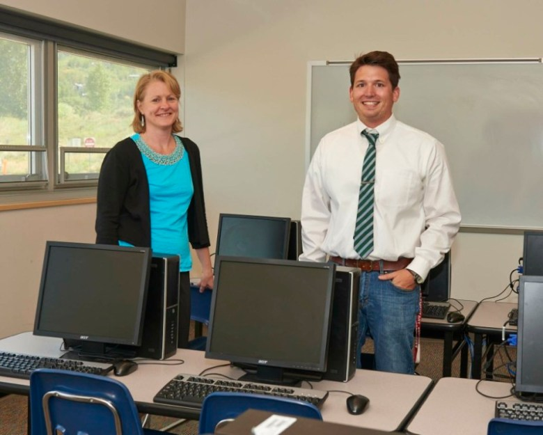 Technology integrators Anita Moose and Evan OBranovic will help teachers incorporate computers into classrooms across the Aspen School District. The Roaring Fork School District has filled a similar new job for downvalley schools as well.