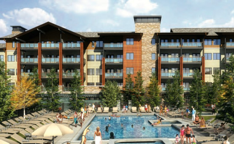 A view of the pool proposed by Related Cos. in a recent plan to the Town of Snowmass Village.