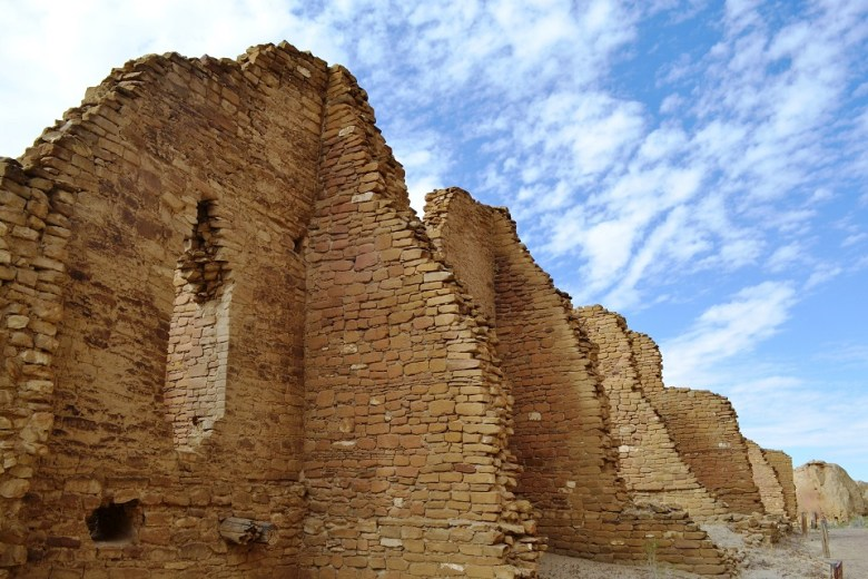 The great houses of Chaco Canyon are reminders that the ancients were anything but primitive in their construction of a lasting  and awesome legacy.