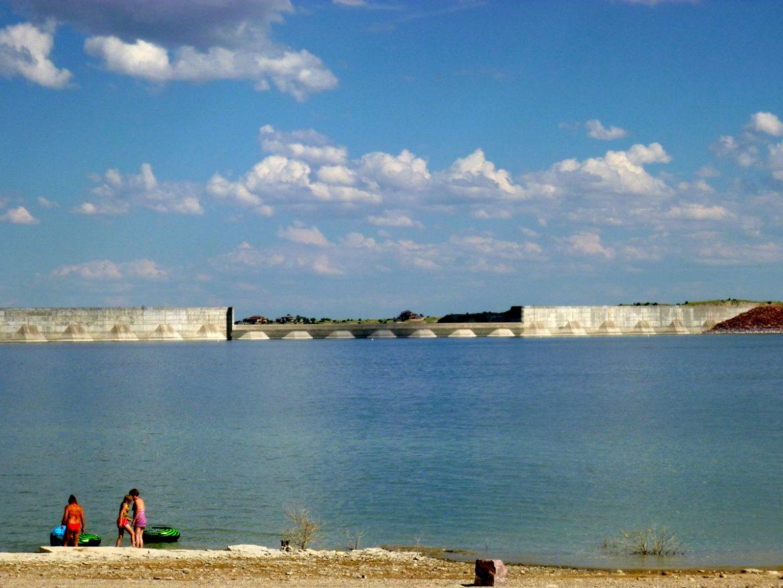 Pueblo Reservoir, near Pueblo, a key component of water management in the Arkansas River basin.
