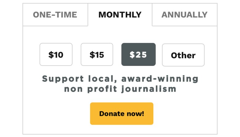 Support Local Non-Profit Journalism