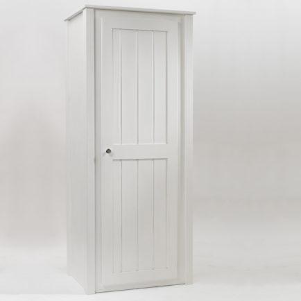 Kids Single Wardrobe White  Aspenn Furniture