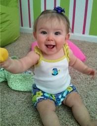 Happiest Baby Amelia
