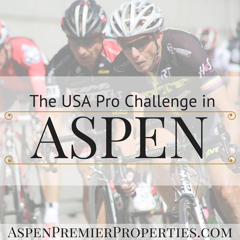 USA Pro Challenge in Aspen - Buy a Home in Aspen, CO