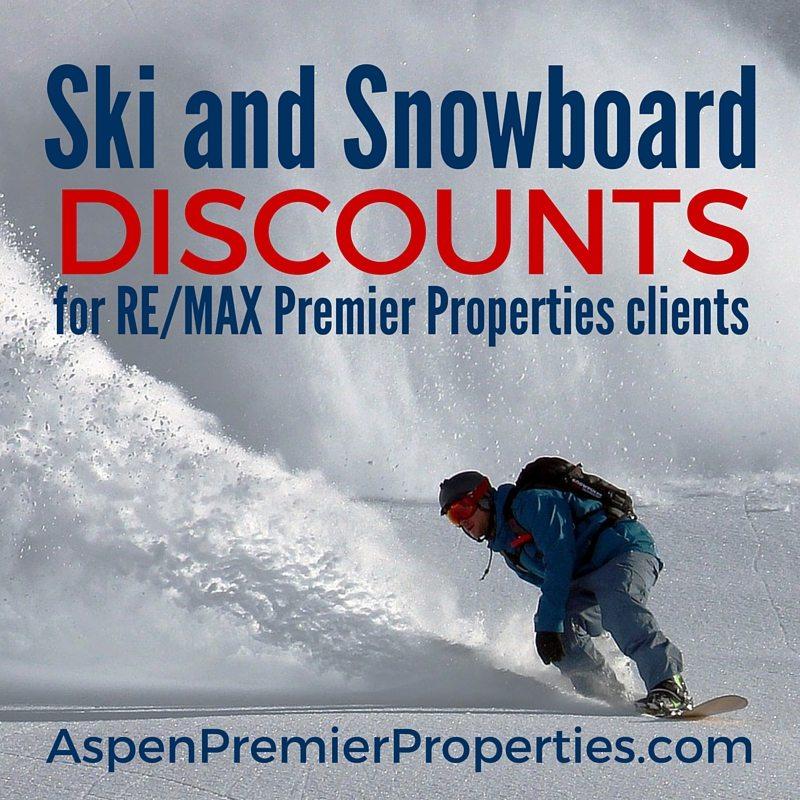 ski and snowboard rental discounts in aspen - remax premier properties