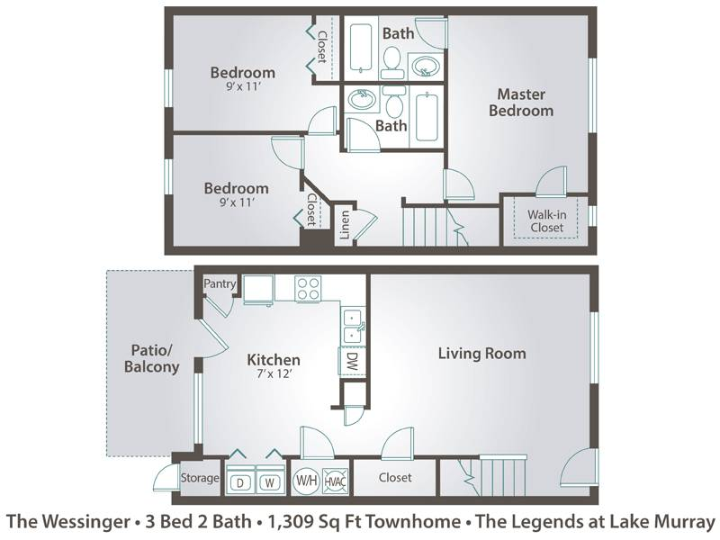 Apartment Floor Plans  Pricing  The Legends at Lake