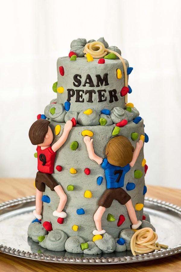 Rock Climbing Cake Aspen Street Cakes