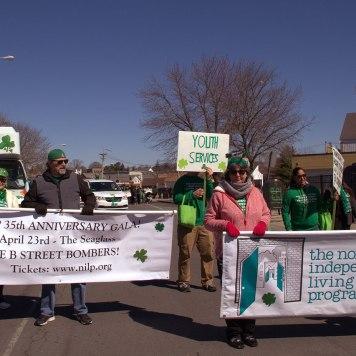 NILP marchers