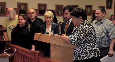 Receiving Proclamation