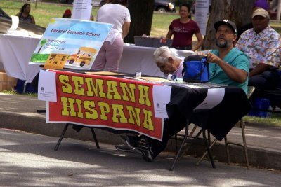 Semana Hispana Table