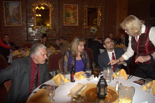 Kevin and Marion Donahue, Daniel Rajczyk, Stephanie Beach