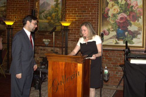 Daniel Rajczyk & Eileen Bernal