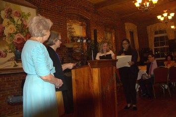 Eva Rajczyk, Lysbeth Noyes, Eileen Bernal, & Juana Matias