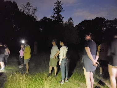 Gathering at Soldiers Hill