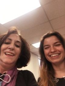 Andrea Watson and Sophia LaCortiglia