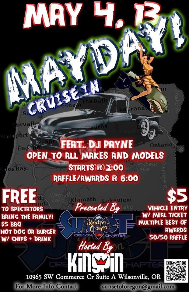 Sunset OR Mayday Cruise