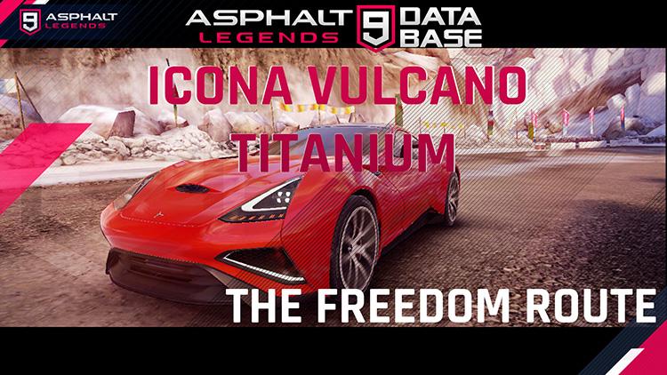 événement de titane icona vulcano