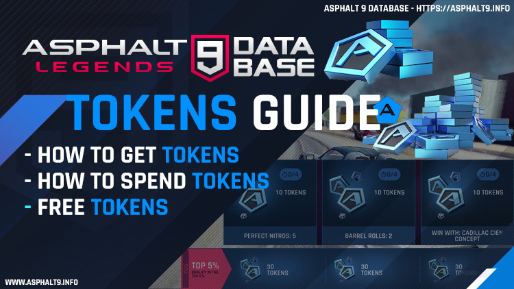 asphalt 9 free tokens guide
