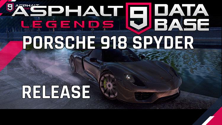 Porsche 918 lanzamiento hazaña