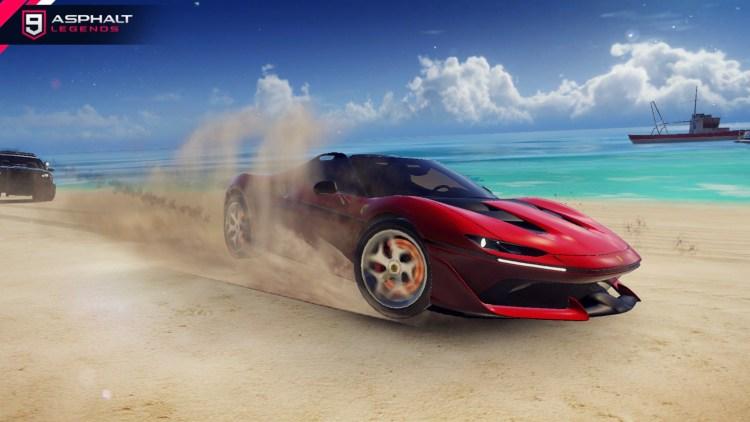 アスファルト9 Ferrari J 50ギャラリー5