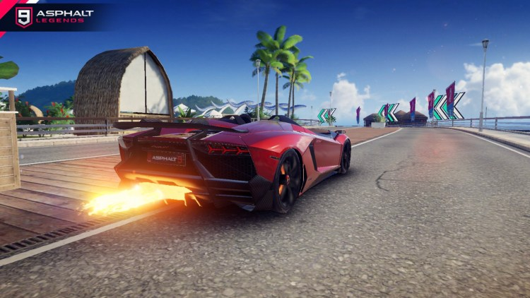 Lamborghini Aventador J ギャラリー2 Asphalt 9 Legends