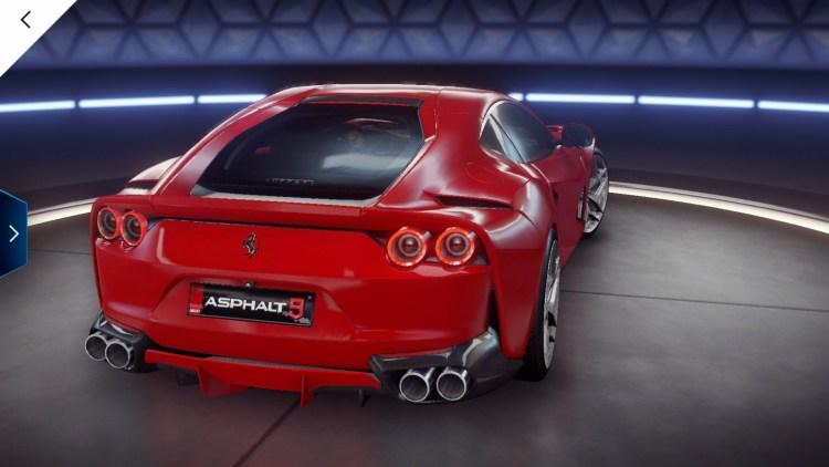 Asphalt 9 Ferrari 812 Superfast 4